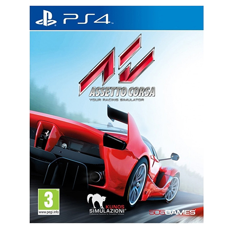 Assetto Corsa - PS4 Game gaming games paixnidia ps4