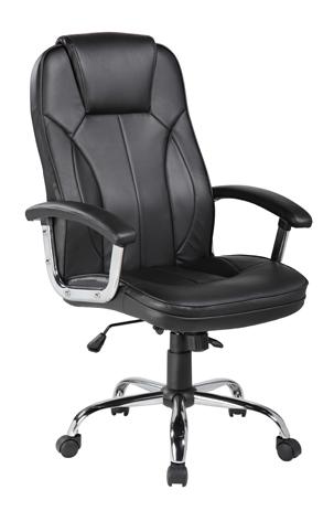Πολυθρόνα Γραφείου Velco 66-23614 Μαύρη