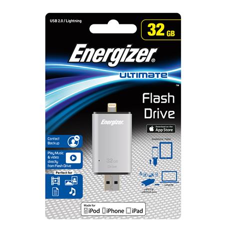 USB 2.0 Stick Διπλό 32GB Energizer FOTLIU032R hlektrikes syskeyes texnologia perifereiaka ypologiston usb stick