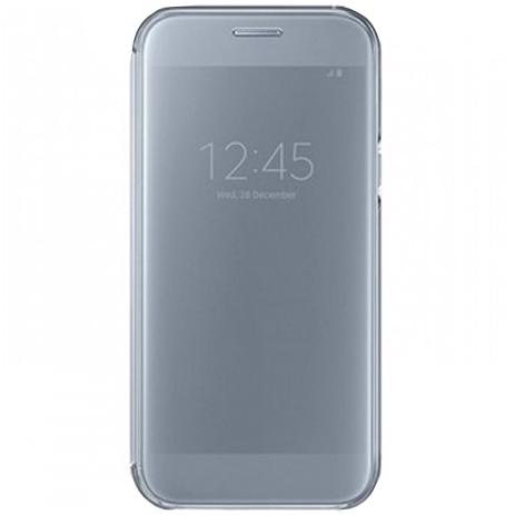 Θήκη Samsung Original Clear View Cover for Samsung Galaxy A5 A520 Blue (EF-ZA520 hlektrikes syskeyes texnologia kinhth thlefonia prostateytikes uhkes