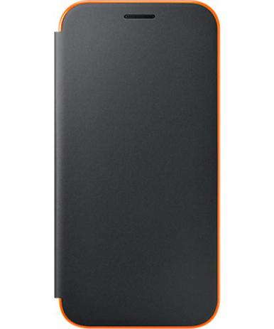 Θήκη Samsung Original Neon Flip for Samsung Galaxy A5 A520 Black (EF-FA520PBE) hlektrikes syskeyes texnologia kinhth thlefonia prostateytikes uhkes