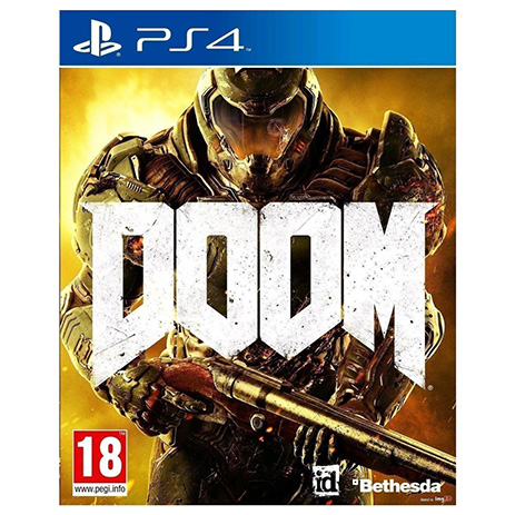 Doom Standard Edition - PS4 Game gaming games paixnidia ps4