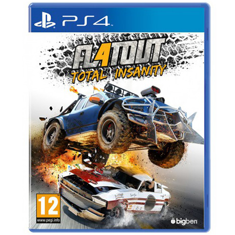 FlatOut 4 Total Insanity - PS4 Game gaming games paixnidia ps4