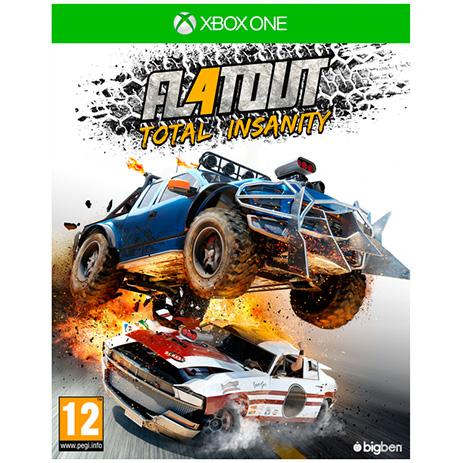 FlatOut 4 Total Insanity - XBox One Game gaming games paixnidia xbox one