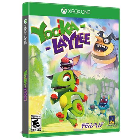 Yooka Laylle - XBox One Game gaming games paixnidia xbox one