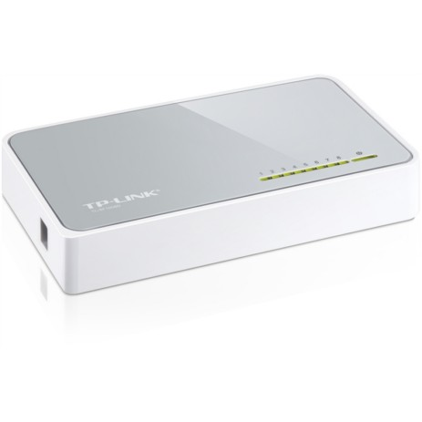 Switch 8 Θυρών TP-Link TL-SF1008D v8.0 hlektrikes syskeyes texnologia perifereiaka ypologiston diktya