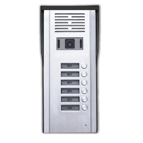 Κάμερα Θυροτηλεόρασης 6 Πλήκτρων CRL-618-6AV hlektrikes syskeyes texnologia systhmata asfaleias uyrothleoraseis
