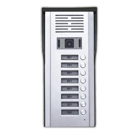 Κάμερα Θυροτηλεόρασης 8 Πλήκτρων CRL-618-8AV hlektrikes syskeyes texnologia systhmata asfaleias uyrothleoraseis