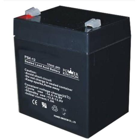 Μπαταρία Μολύβδου 12V 4Ah Power Kingdom PS4-12 hlektrikes syskeyes texnologia hlektrologikos ejoplismos mpataries