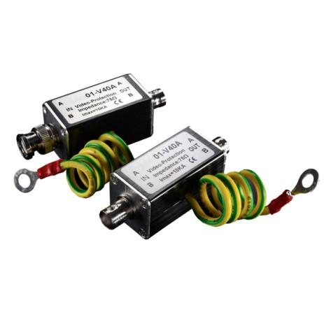 Προστασία Υπέρτασης Σήματος Video SPD-400 hlektrikes syskeyes texnologia oikiakes syskeyes ajesoyar