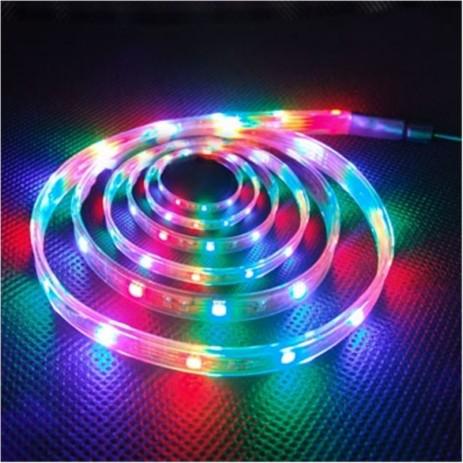 Ταινία Led RGB IP-20 LDT-3528/20RGB 5m hlektrikes syskeyes texnologia hlektrologikos ejoplismos fotistika