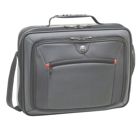 Τσάντα Laptop Wenger Insight 600646 Γκρι paixnidia hobby eidh tajidioy tsantes uhkes