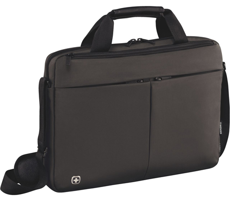 Τσάντα Laptop Wenger Format 16 601063 Γκρι paixnidia hobby eidh tajidioy tsantes uhkes