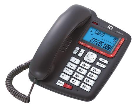 Επιτραπέζιο Τηλέφωνο με Αναγνώριση Κλήσης IQ DT-885CID hlektrikes syskeyes texnologia stauerh thlefonia thlefona