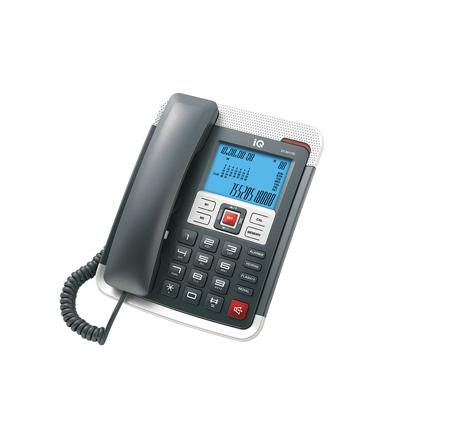 Σταθερό Τηλέφωνο IQ DT-891CID Μαύρο hlektrikes syskeyes texnologia stauerh thlefonia thlefona