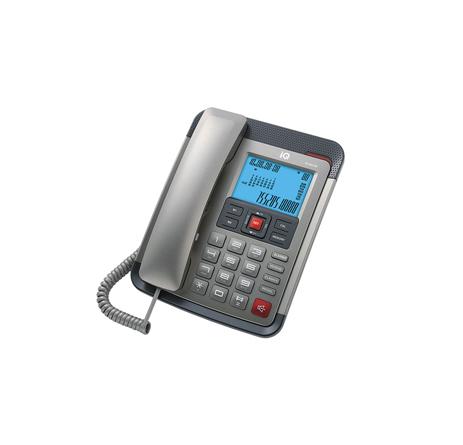 Σταθερό Τηλέφωνο IQ DT-891CID Ανθρακί hlektrikes syskeyes texnologia stauerh thlefonia thlefona