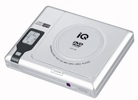 Φορητό DVD Player IQ DVP-380 hlektrikes syskeyes texnologia eikona hxos dvd player