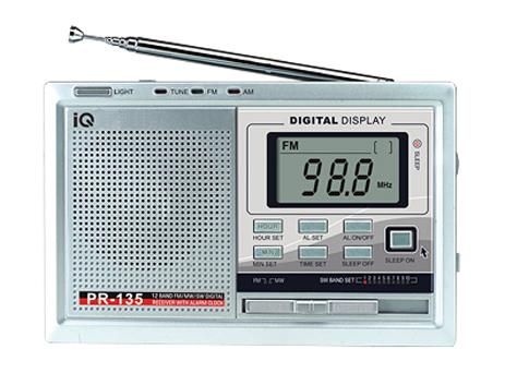 Ψηφιακό Ραδιόφωνο με Ξυπνητήρι IQ PR-135