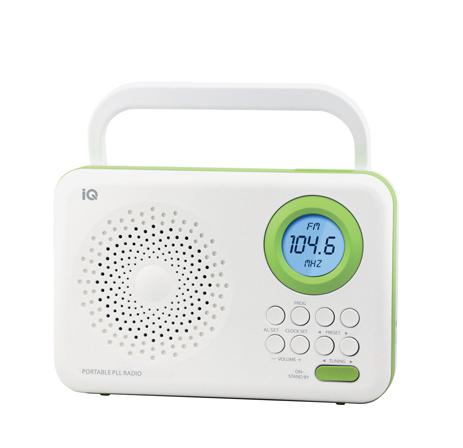 Ψηφιακό Ραδιόφωνο FM IQ PR-138 Πράσινο hlektrikes syskeyes texnologia eikona hxos radiocdhi fi