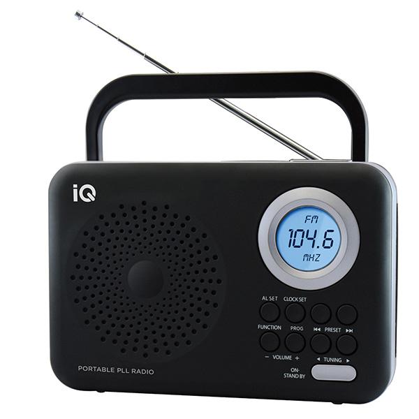 Ψηφιακό Ραδιόφωνο FM IQ PR-138 Ασημί hlektrikes syskeyes texnologia eikona hxos radiocdhi fi