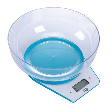 Ηλεκτρονική Ζυγαριά Κουζίνας IQ SC-732 Μπλε hlektrikes syskeyes texnologia oikiakes syskeyes zygaries koyzinas