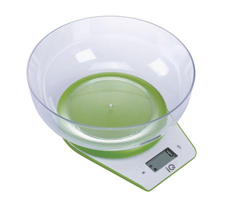 Ηλεκτρονική Ζυγαριά Κουζίνας IQ SC-732 Πράσινη hlektrikes syskeyes texnologia oikiakes syskeyes zygaries koyzinas