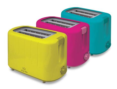 Φρυγανιέρα IQ ST-602 Κίτρινη