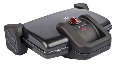 Τοστιέρα IQ ST-648 Μαύρη