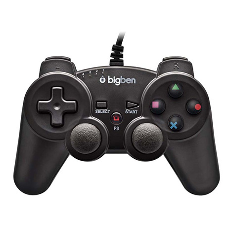 Χειριστήριο Ενσύρματο BigBen Wired Controller - PS3 Controller gaming perifereiaka gaming ps3 xeiristhria