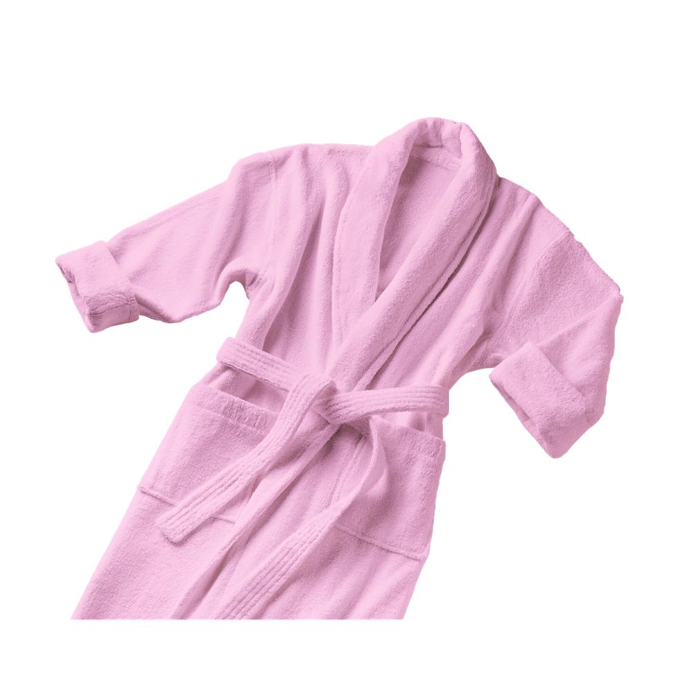 Μπουρνούζι με Γιακά Large Ροζ Fennel Comfort BRCC-L-PK spiti leyka eidh mpoyrnoyzia
