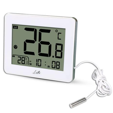 Ψηφιακό Θερμόμετρο Life WES-202 Λευκό paixnidia hobby gadgets meteorologikoi staumoi