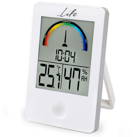 Ψηφιακό Θερμόμετρο-Υγρόμετρο Life WES-101 Λευκό paixnidia hobby gadgets meteorologikoi staumoi