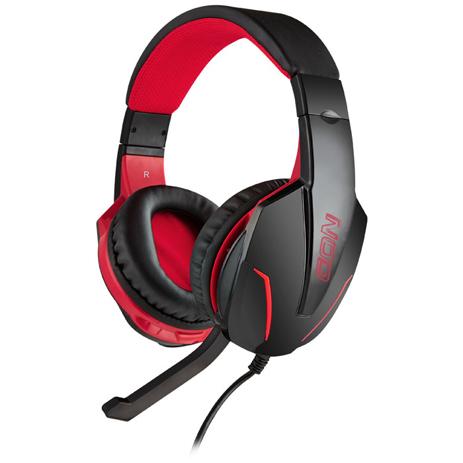 Gaming Headset με Ρυθμιζόμενο σε Κλίση Μικρόφωνο Nod G-HDS-001 Μαύρο hlektrikes syskeyes texnologia perifereiaka ypologiston akoystika
