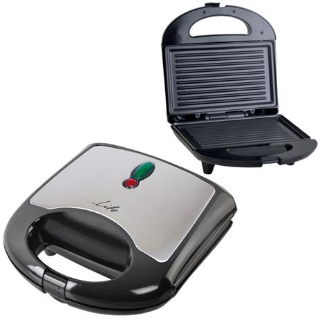 Τοστιέρα με Grill Πλάκες Life STG-001 700w hlektrikes syskeyes texnologia oikiakes syskeyes tostieres gkrilieres
