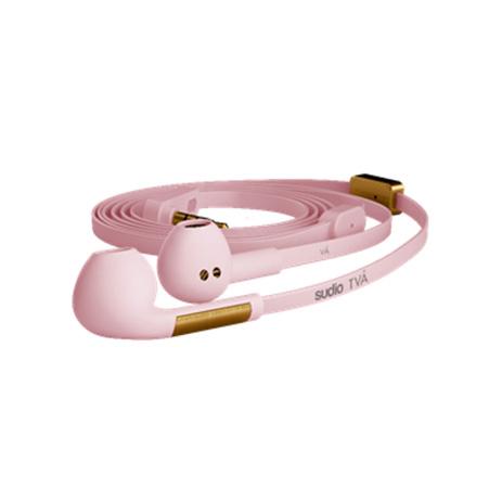 Στερεοφωνικά Ακουστικά Sudio TVA Pink hlektrikes syskeyes texnologia kinhth thlefonia akoystika