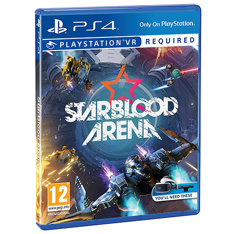Star Blood Arena (VR) - PS4 Game gaming games paixnidia ps4