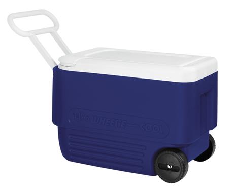 Φορητό Ψυγείο Igloo Wheelie Cool 38 36lt Μπλέ khpos outdoor camping epoxiaka camping cygeia