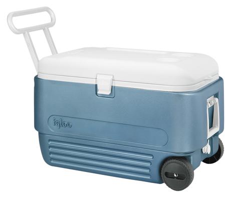 Φορητό Ψυγείο Igloo Maxcold 60 Roller 57lt Μπλέ khpos outdoor camping epoxiaka camping cygeia