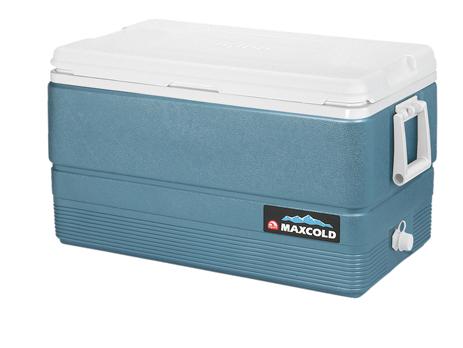 Φορητό Ψυγείο Igloo Maxcold 70 66lt Μαύρο/Μπλέ (41624) khpos outdoor camping epoxiaka camping cygeia