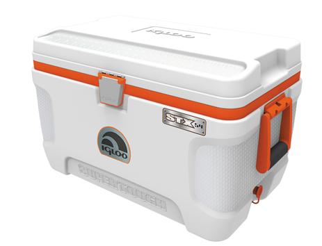 Φορητό Ψυγείο Igloo Super Tough STX 54 51lt Άσπρο khpos outdoor camping epoxiaka camping cygeia