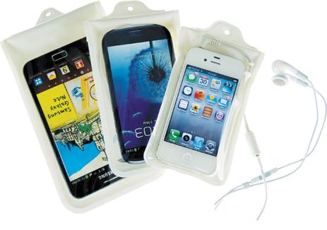 Στεγανή Θήκη JR Gear Κινητού Smartphone Λευκή (12605) khpos outdoor camping epoxiaka camping ajesoyar paralias