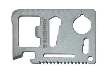 Πoλυεργαλείο Τσέπης Swiss+Tech Credit Card Multi - Tool paixnidia hobby gadgets polyergaleia