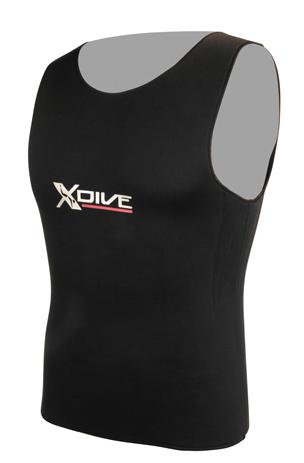 Γιλέκο XDive 3mm Jersey Με Φόδρα Εσωτερικά XXL/6 paixnidia hobby diving gileka katadyshs