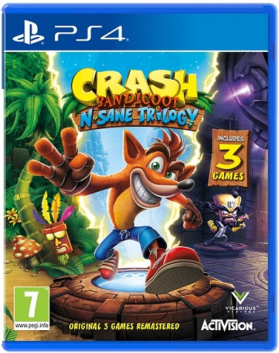 Crash Bandicoot N. Sane Trilogy - PS4 Game gaming games paixnidia ps4