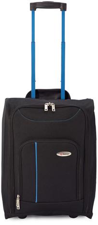 Βαλίτσα Καμπίνας Πτυσσόμενη Benzi BZ4891 Μαύρη-Μπλε paixnidia hobby eidh tajidioy balitses