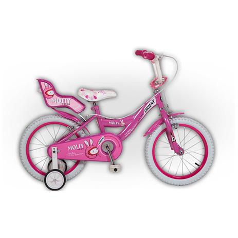 """Παιδικό Ποδήλατο Orient Molly 16"""", Φούξια paidi paixnidia podhlata"""