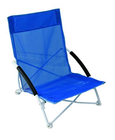 Καρεκλάκι Μεταλλικό Text 143-7782-1 Μπλε khpos outdoor camping epoxiaka camping karekles paralias