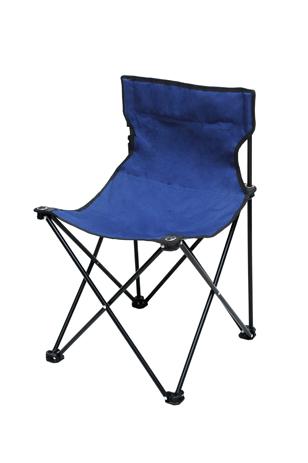 Καρέκλα Μεταλλική Polyester 153-2701-1 Μπλε khpos outdoor camping epoxiaka camping karekles paralias