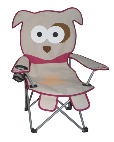 Καρέκλα Μεταλλική Polyester 153-3201-4 Σκυλάκι khpos outdoor camping epoxiaka camping karekles paralias