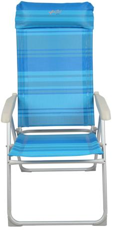 Καρέκλα Μέταλλο-Αλουμίνιο Text & Αποσπώμενο Μαξιλάρι 151-5120 khpos outdoor camping epoxiaka camping ajesoyar camping
